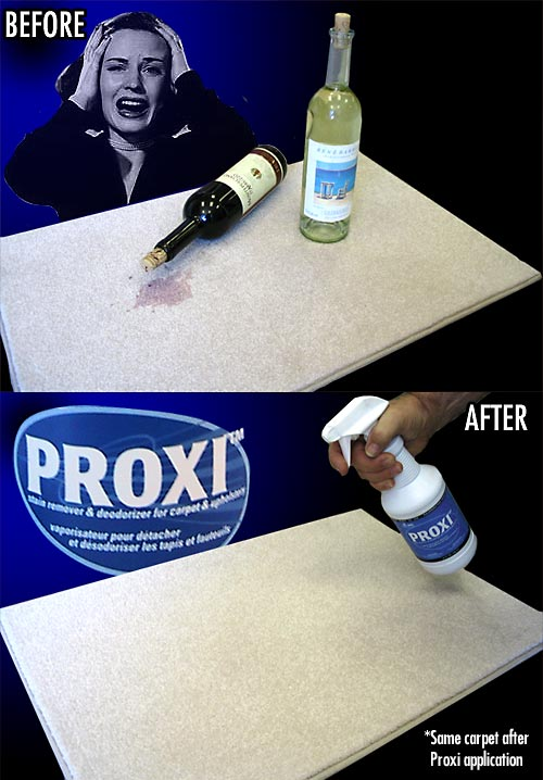 Proxi Stain Remover and Deodorizer for Carpet and Upholstery