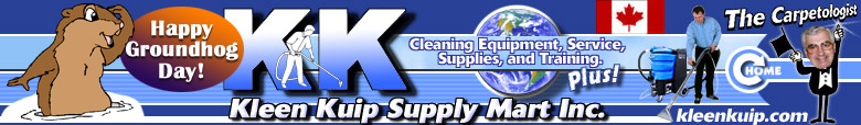 Carpet Cleaning Equipment and Restoration Supplies