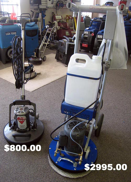 Used SprayBorg Floor Machine For Sale