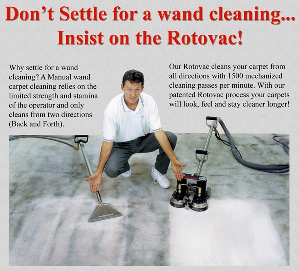 Used Rotovac Powerwand for Sale