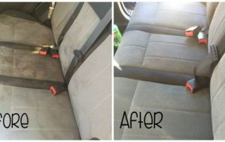 How to remove car upholstery stains