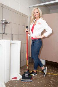 urinals flooring cleaning machine