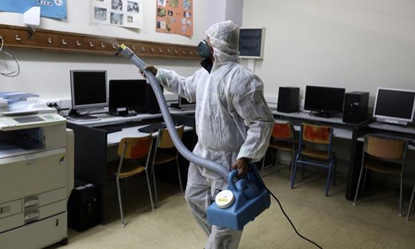 disinfectant spraying machine - blastmaster