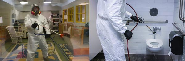 disinfecting spraying machine schools hospitals care homes recreation centres
