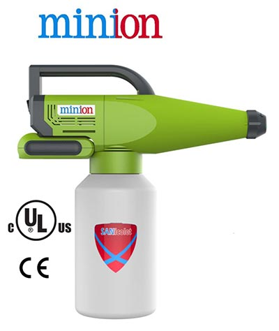 electrostatic sprayer handheld negative ions disinfect