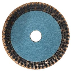tynex brush with blue pad for grout cleaning floor machine