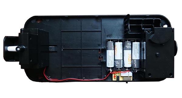Hand Sanitizer Dispenser Steryll Battery Compartment