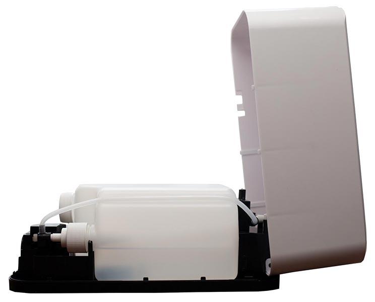Automatic Hand Sterilizer Dispenser Open Panel