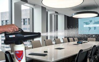 disinfecting boardroom coronavirus