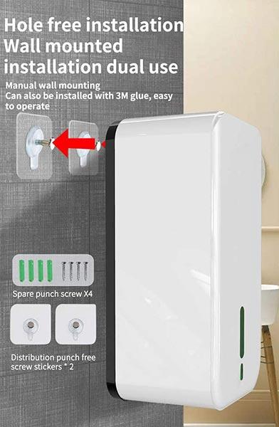 hand sanitizer dispenser wall mount