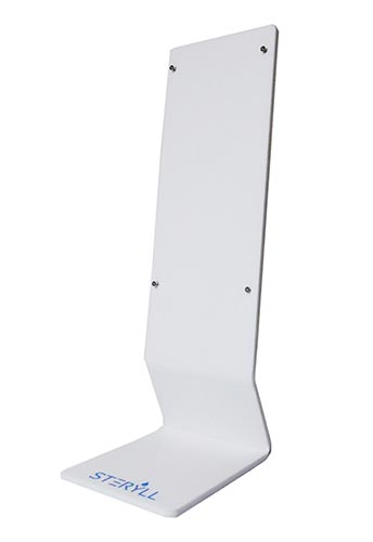 hand sanitizer countertop stand steryll