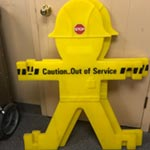 the boys caution out of service
